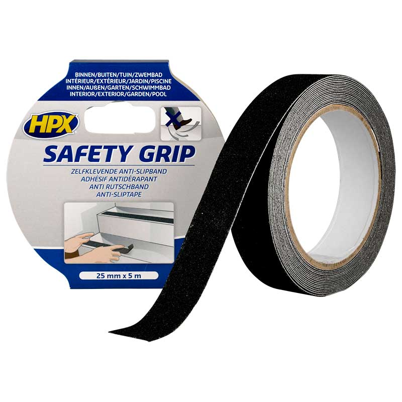 ANTI-SLIP TAPE SAFETY GRIP 25 mm. x 5 mtr.