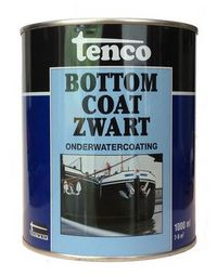 TENCO BOTTOM COAT ZWART/1 LTR.