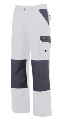 BROEK BOSTON WIT/GRIJS MT.50 PC245