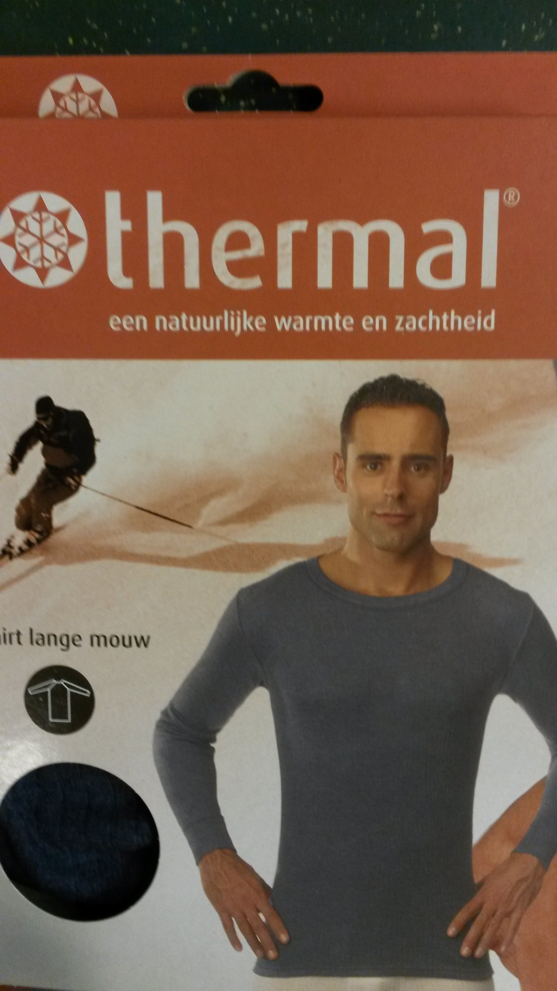 THERMAL THERMOSHIRT L.MOUW